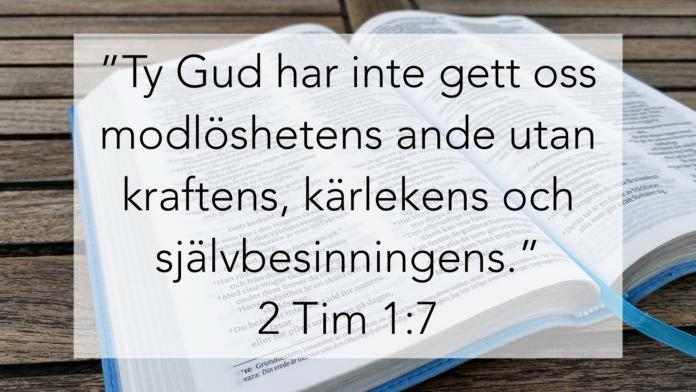 Min Bibelhälsning Jesper Lundqvist