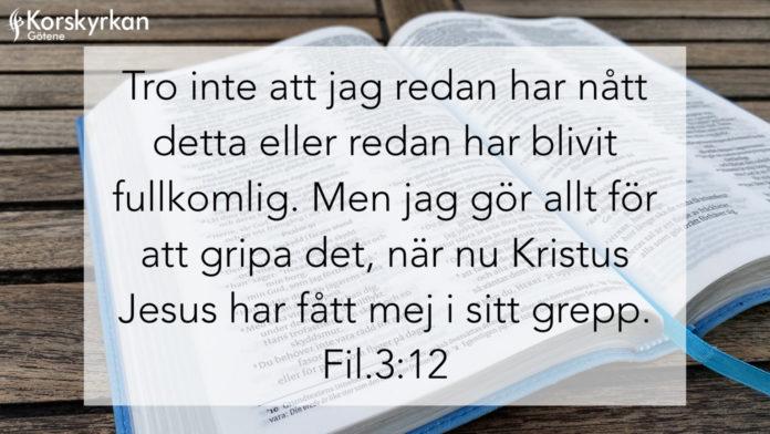 Min Bibelhälsning – Ulf Göran Bergqvist